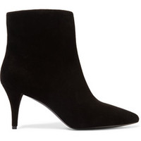Pierre Balmain Brook suede ankle boots – 60% at THE OUTNET.COM