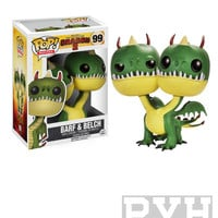 Funko Pop! Movies: How To Train Your Dragon 2 - Barf & Belch - Vinyl Figure - VAULTED (RETIRED)