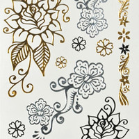 Many body tattoo flash temporary tattoo tattoo kits non-toxic metal free shipping