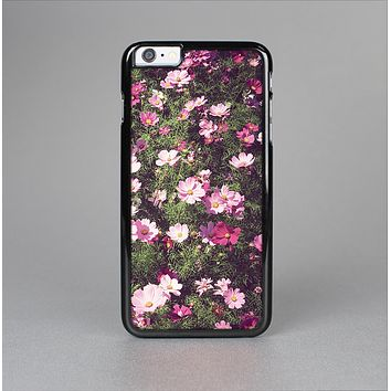The Vintage Pink Floral Field Skin-Sert for the Apple iPhone 6 Skin-Sert Case