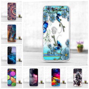 3D Cute Animal Capa For Huawei Honor 9 Case Cover Silicone Soft TPU Back Cover Case For Huawei Honor 9 STF-L09 Phone Funda Coque