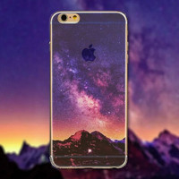 Evening Tourism Scenery iPhone 5 5S iPhone 6 6S Plus creative case + Nice Gift Box -125