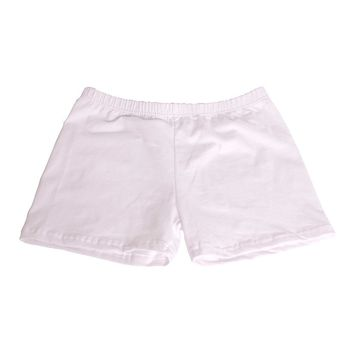 Underneath Cotton Boy Shorts - White
