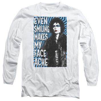 Rocky Horror Picture Show - Face Ache Long Sleeve Adult 18/1 Officially Licensed Shirt