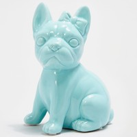 Green Frenchie Bow Coin Bank | Banks | rue21