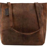 Vintage Handmade Leather Byron Bay Ladies Bag