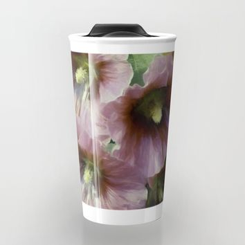 What A Holly Day Travel Mug by Theresa Campbell D'August Art