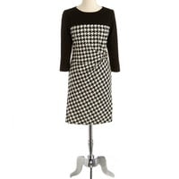 Houndstooth Dress   Lord and Taylor