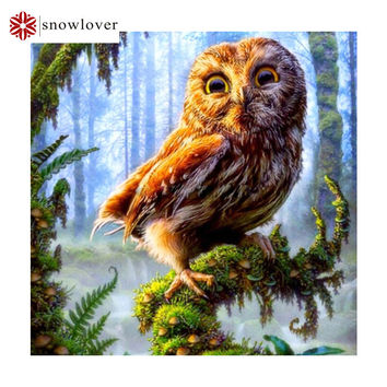 Forest eagle Needlework 3D diamond embroidery full resin diamond with picture home decor mosaic diy diamond painting M02178