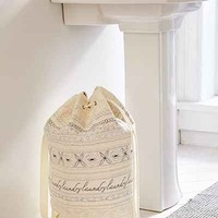 Marisol Stitched Laundry Bag - Urban Outfitters