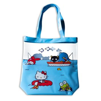 SANRIO LOOT CRATE Hello Kitty Plastic Vacation Beach Tote Bag LootCrate