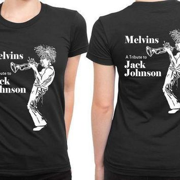 Melvins A Tribute To Jack Johnson 2 Sided Womens T Shirt