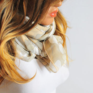 Long Beige Scarf, scarves, extra long scarf , beige scarf, scarves, Gift Ideas, For Her, women, headband, headscarf, shawl