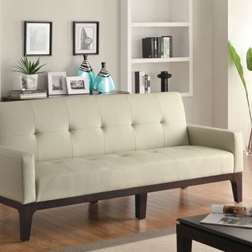 Shop leather tufted bed on wanelo for B m living room furniture