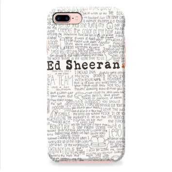 Ed Sheeran iPhone 8 | iPhone 8 Plus Case