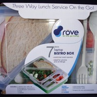 Rove On the Go 7 Piece Laptop Bistro Lunch Box