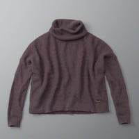 MOHAIR BLEND TURTLENECK SWEATER