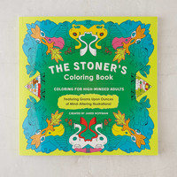 The Stoner's Coloring Book: Coloring For High-Minded Adults By Jared Hoffman | Urban Outfitters