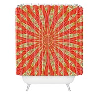 Lisa Argyropoulos Radiate Shower Curtain