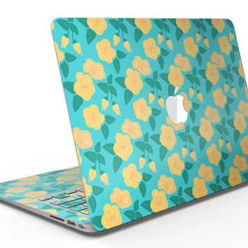 Tropical Floral v1 - MacBook Air Skin Kit