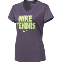 Nike Women's V-Neck Tennis Shirt - Dick's Sporting Goods
