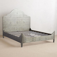 Hand-Embossed Bed