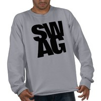 SWAG PULL OVER SWEATSHIRT from Zazzle.com
