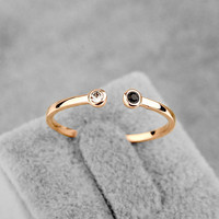 2016 New Sale Real Italina Rigant  Austria Crystal Ring 18K gold Plated Rings for Women Heathy Openings  ring #RA11542Rose