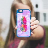 iPhone Case With Interchangeable Back Plates | One Case, Endless Possibilities | Hawaiian Pineapple Design by Casetify (iPhone 6/6s/Plus/7)