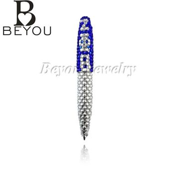 ZETA PHI BETA  Sorority bling pen  Greek letters  Fashion Custom jewelry  gift pen ZPB pen