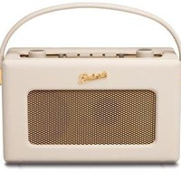 NEW ROBERTS REVIVAL RD60 FM DAB RADIO PASTEL CREAM WITH GOLD PLATED FITTINGS