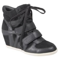 Hailey Jeans Co Womens Lace-up Wedge High-top Sneakers: Shoes