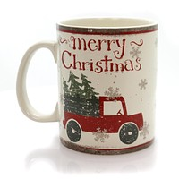 Tabletop Merry Christmas Mug Christmas Tabletop