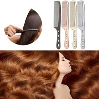 Anti-static Heat Comb Pro Hairdressing Hair Salon Barber Hair Wig Styling Tools Combs Brushes Healthy Reduce Hair Loss Tool