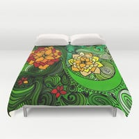 The nature of Nature Duvet Cover by DuckyB (Brandi)