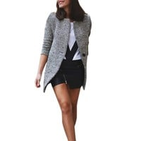Women Slim Warm winter casual Coats