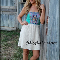 A Southern Charm lace embroidered dress - Filly Flair