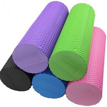 Eco-friendly Eva Foam crossfit roller for Yoga pilates trainning fitness rollers with trigger points Muscle relaxation = 1932836164