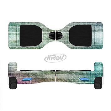 The Vibrant Fold Colored Fabric Full-Body Skin Set for the Smart Drifting SuperCharged iiRov HoverBoard