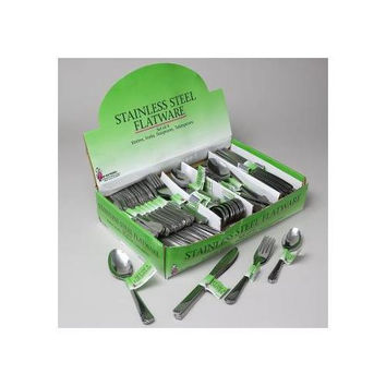 Stainless Steel Flatware - 108 3 Piece Sets