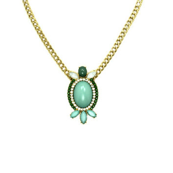 Green Mini Loriana Necklace