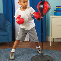 Standing Punching Bag Set