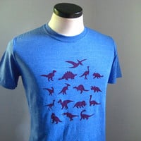 Dinosaur T Shirt Unisex or Women's