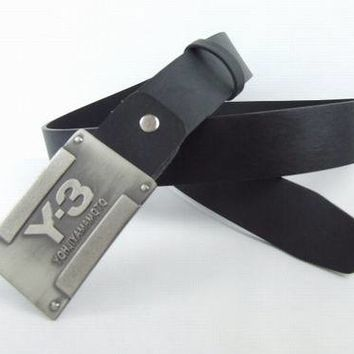 Cheap Y-3 Genuine Leather belts woman's and men's Business Waistband Belt Luxury Casual fashion Belt sale-843368361