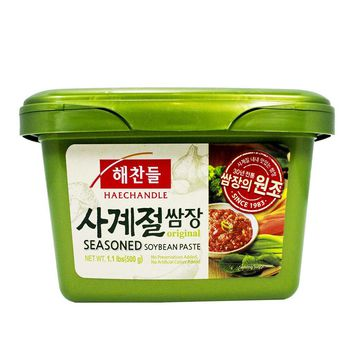 CJ Seasoned Soybean Paste Ssamjang by Haechandle, 1.1 lbs