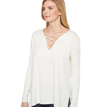 Brigitte Bailey Topsail Long Sleeve Top