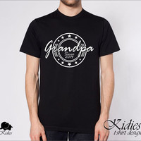 Grandpa since 2014, t-shirt design, man, sizes S-XL, any color, great gift