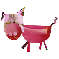 Kelly Carlson's P is for Pig Wall Decal