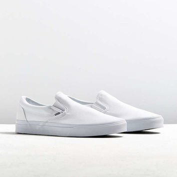 Vans Classic Slip-On White Sneaker | Urban Outfitters