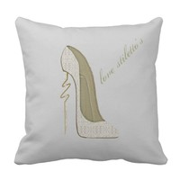 love stiletto's pillow